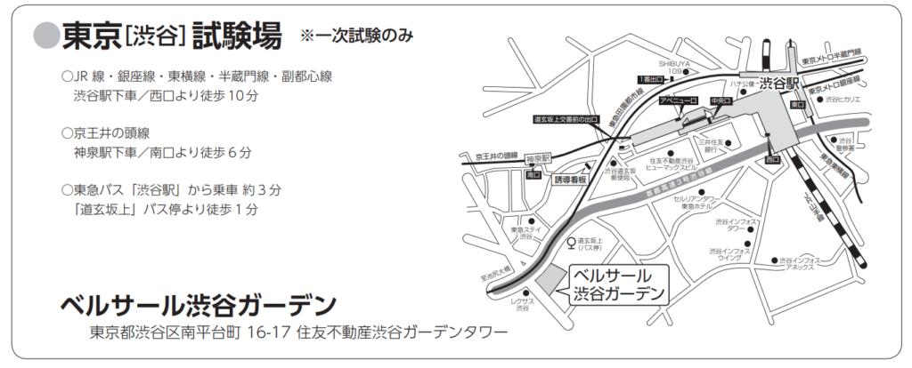 東北医科薬科大学:東京試験場①